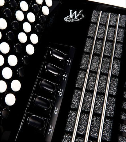 Weltmeister Romance 703 96 Bass - Buttons - Dragspeloteket